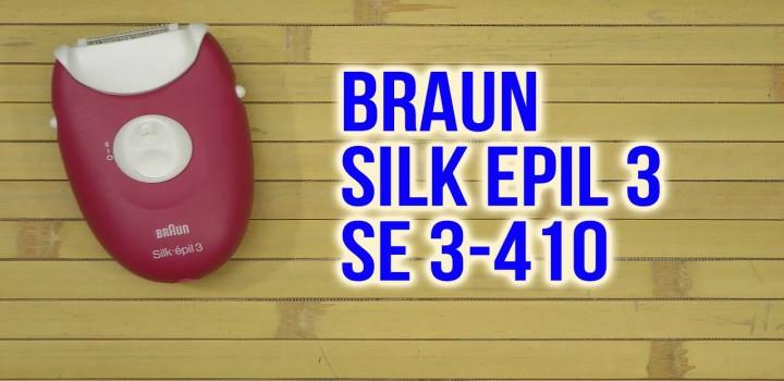 analisis depiladora Silk-epil 3 3-410