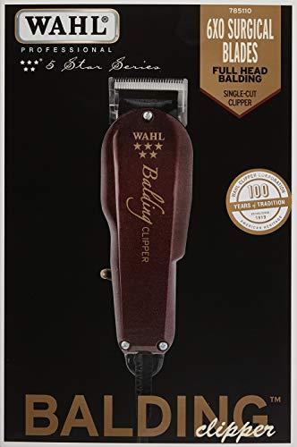 Wahl Balding - Cortapelo, color rojo