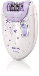 Philips HP6421/00 - Depiladora para Mujer Inalámbrica, Lila y Blanco