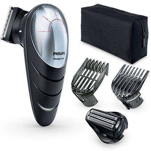 Philips QC5580/32 - Cortapelos con cabezal con giro de 180º , cabezal de corte con peine de 14 posiciones y cabezal de afeitado