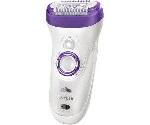 Braun Silk-épil 7 7-561 - Depiladora eléctrica inalámbrica en seco y húmedo, 8 accesorios, incluido un cabezal de afeitado y un peine de recorte